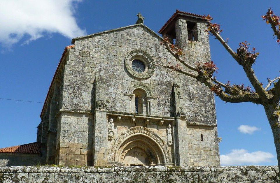 La iglesia románica de San Pedro da Mezquita