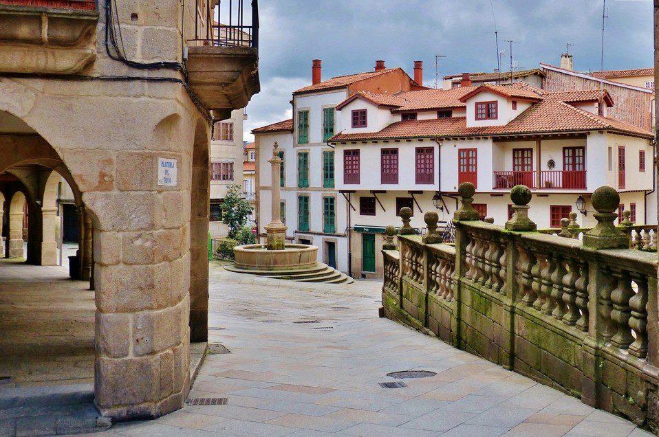 Recorriendo el Casco Vello de Ourense