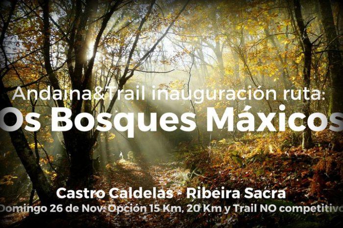 Inauguración: Ruta dos Bosques Máxicos (Castro Caldelas)